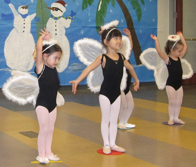 Many dance studios have dress codes for their students